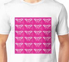 Stunning Hot Pink Butterflies  Unisex T-Shirt