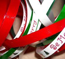 Christmas Ribbons by debbiedoda