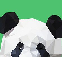 Polygonal Panda! by Edwin Enciso