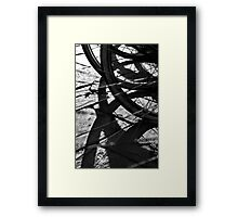 Wheels 5 Framed Print