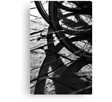 Wheels 5 Canvas Print