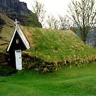Chapel, Skalftafell, Iceland by Margaret  Hyde