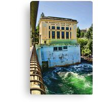 Washington Water Power Co. Canvas Print