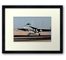 Hornet Comes Home Framed Print