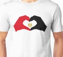 I Heart Egypt Patriot Flag Series  Unisex T-Shirt