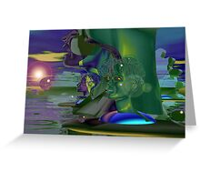 Sunset on the Nile, No. 7 Greeting Card