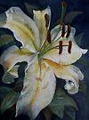 White Lily by JayteesArt