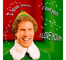 Buddy the Elf - Love Photographic Print