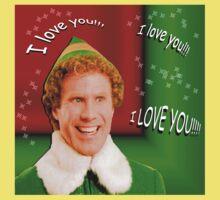 Buddy the Elf - Love Kids Tee