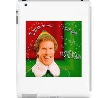Buddy the Elf - Love iPad Case/Skin