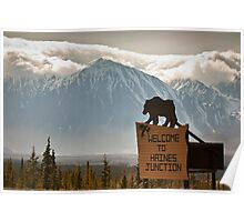 Welcome to Haines Junction Poster