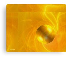 Mellow Yellow Bubble Canvas Print