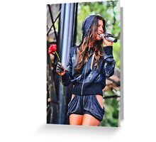 Concert Beauty Greeting Card