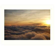 skyscapes #54, above the clouds Art Print
