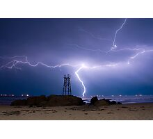 Lightning Blues Photographic Print