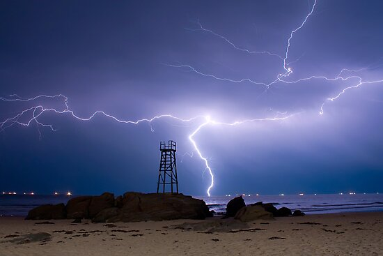 Lightning Blues by Naomi Frost