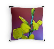 'Dew Drops'................. Throw Pillow