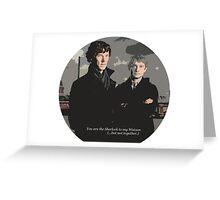 Be My Watson Greeting Card