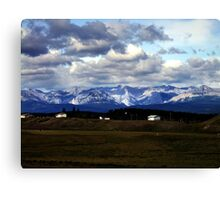Foothills Morning Canvas Print