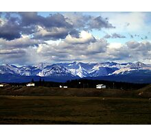 Foothills Morning Photographic Print