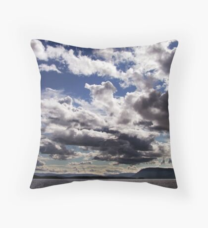 An Evening in June Throw Pillow