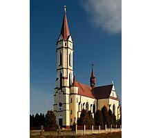 Tschenec Church Photographic Print