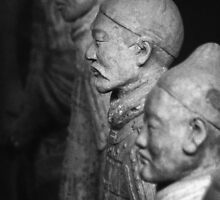 The Ancient Terracotta Warriors by imagesbyjillian
