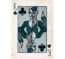 Vampire King of Clubs Photographic Print