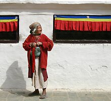 spinning prayer wheels by Andrew Bradsworth