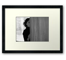 One Line by Nicole Mahony Framed Print