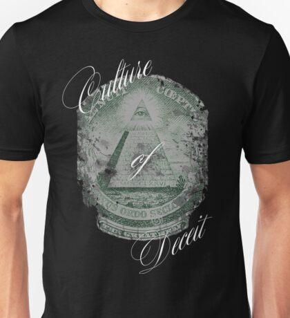 Culture of deceit Unisex T-Shirt