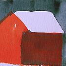 Red cottage by Catrin Stahl-Szarka