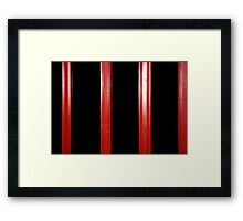 Folding door. Framed Print