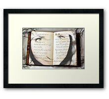 Read Me.. Framed Print