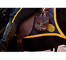 Saddled Up for Work Photographic Print