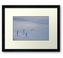Surfers Surreal  Framed Print