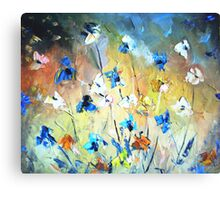 Field flowers Canvas Print