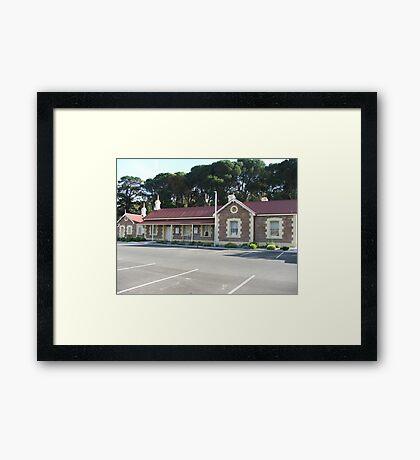 Mt Barker Railway Station Framed Print