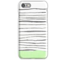 The Bottom Line- Green iPhone Case/Skin