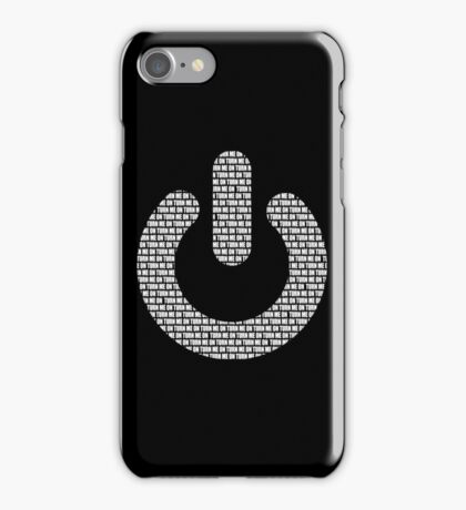 Turn me on iPhone Case/Skin
