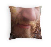 Duke of sculpture Throw Pillow