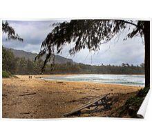 Surfers Paradise, Kauai Poster
