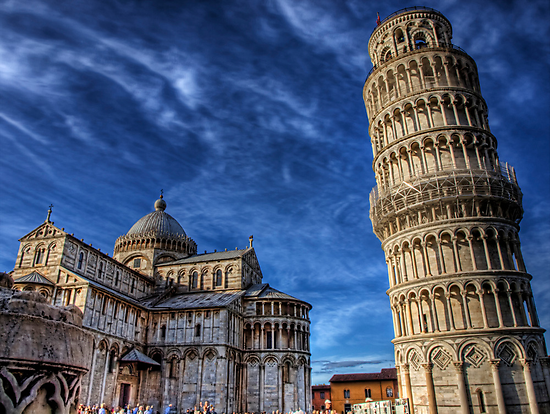 Leaning Tower of Pisa - again by NeilAlderney