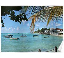 St Lawrence Gap, Barbados Poster