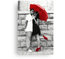 Out of the Rain Canvas Print