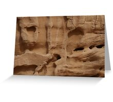 Rockface Greeting Card