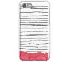 The Bottom Line- Red iPhone Case/Skin