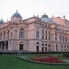 Krakow Opera House by Elena Skvortsova