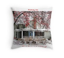 All the Magic of the Holidays Throw Pillow