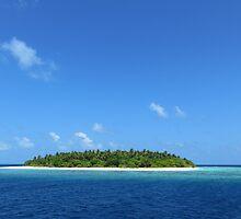 an inspiring Maldives landscape by beautifulscenes